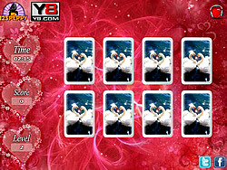 jeu Valentine Cards Match