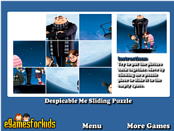 Larong Despicable Me Sliding Puzzle