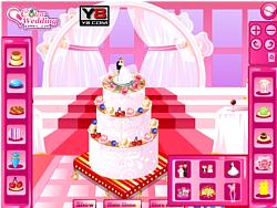 Maglaro ng libreng laro Bridal Shower Cake