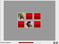 Fighting Heroes Memory game