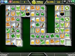 St Patricks Mahjong game