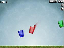 Spielen Sie das Gratis-Spiel  Bucket Balls
