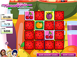 Fruit Memo Game game