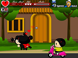 Pucca Kiss game