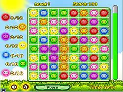 Happy Flowers game