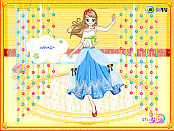 Cinderella Ballroom Dress up spel