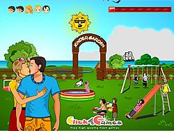 Kinder Garden Kissing