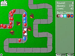 Bloons Tower Defense game