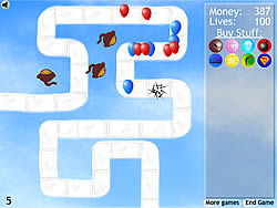 Bloons Tower Defense 2 spel