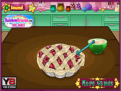 Fun Cooking Cherry Pie oyunu
