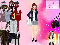 Korean Girl Dress Up