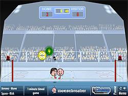 玩免费游戏 Sports Heads: Ice Hockey