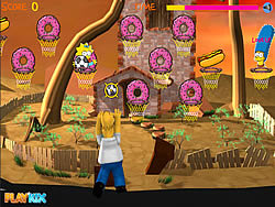 Simpson Hoops spel