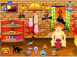 Halloween Baby Bathing игра