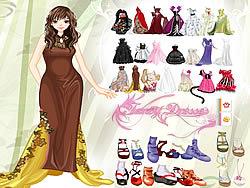lGirls Fancy Dresses game