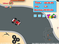 Trail Circuit Car Racing game