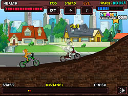 Jerry's BMX Rush game