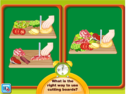 Daniel Food Safety Learning game
