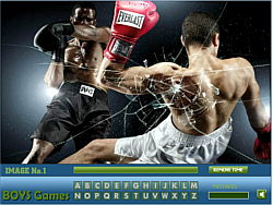 Boxing Hidden Lettersゲーム