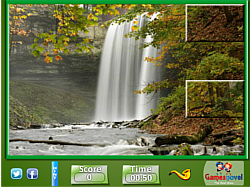 Puzzle Craze Nature Waterfalls
