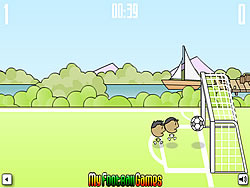 1 on 1 Soccer Brazil game