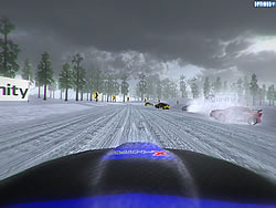 Ice Racing game
