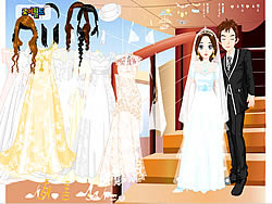 Gioca gratuitamente a Wedding Couple Dressup