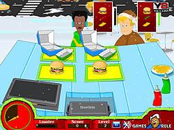 मुफ्त खेल खेलें Christmas Hot Burger