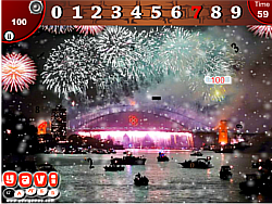 New Year Hidden Numbers game