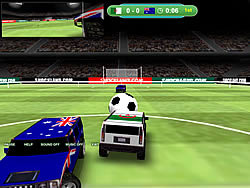World Hummer Football game