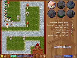 Fratboy Girlfriend Tower Defense jogo