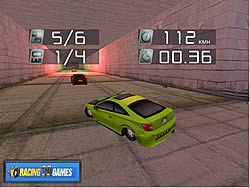 Extreme 3D Race game