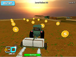 Juega al juego gratis Tractor Farm Parking