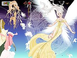 เล่นเกมฟรี Angel Princess Dressup