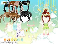Gioca gratuitamente a Baby Angel Dress Up