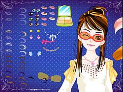 玩免费游戏 Girl Makeover 25