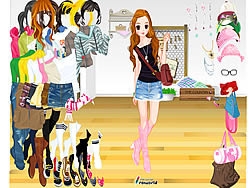 Getting Ready for Xmas Dressup game
