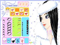 Winter Girl Makeup