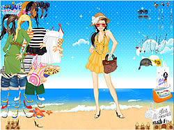 Gioca gratuitamente a Summertime Dress Up