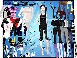 Dots and Beads Dressup game