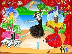 Gioca gratuitamente a Tutu Dancer Dress Up