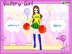 Gioca gratuitamente a Victory Girl Dressup