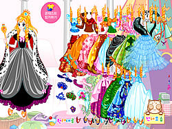 Princess Gown Dressup game