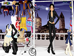 New York Dressup oyunu