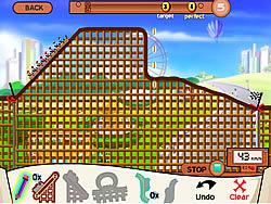 เล่นเกมฟรี Rollercoaster Creator