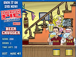मुफ्त खेल खेलें American Pie - Beer Chugger