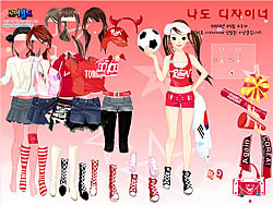 Sport Fan Dress Up spel