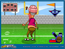 Grampa Grumble Field Goal Challenge game