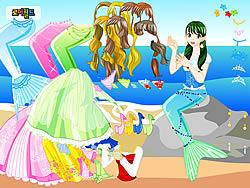 Gioca gratuitamente a Mermaid 2 Dress Up