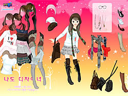 Skirts Scarves Dress Up game